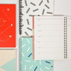 Love this cheerful print for a daily planner.