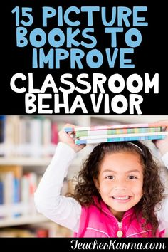 15 picture books to improve classroom behavior. These behavior read alouds are so much fun and perfect for improving student behavior. Student Behavior, Classroom Behavior, Special Education Classroom, School Classroom, Classroom Community, Behavior Management, Classroom Management, Classroom Freebies, Classroom Ideas