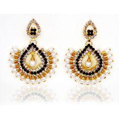 Leela  style CZ earrings