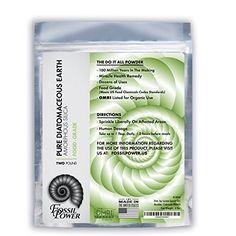 Diatomaceous Earth Food Grade Powder - 2 Lb. Fossil Power...
