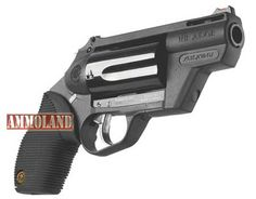 Taurus Judge Public Defender Polymer Revolver:  Check out the revolutionary new Public Defender Polymer. This scaled-down model of everyone's favorite combo gun, the Taurus Judge, still gives you the ability to fire your choice of ammunition —now in a size that fits in most pockets— also in a lighter, polymer body frame with new updates for improved handling and accuracy.
