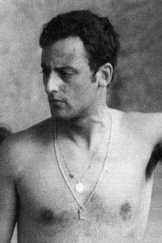 A young Jean Reno - the French actor was born in Casablanca in 1948