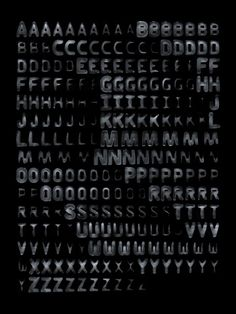 typographie éphémère