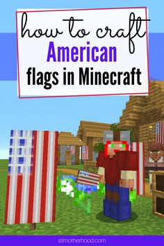 How To Make An American Flag Banner In Minecraft : american, banner, minecraft, MINECRAFT, Ideas, Minecraft,, Minecraft, Designs,, Blueprints