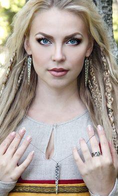 #braids Vikings Hair The viking queen for rocklove