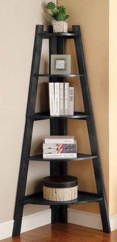 Five-Shelf Corner Display Stand
