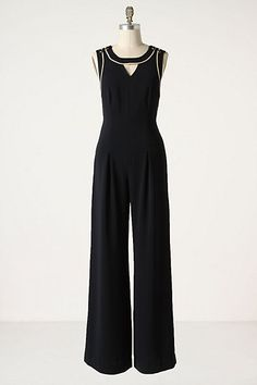 Corded Crossback Jumpsuit #anthropologie