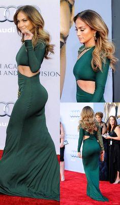 Jennifer Lopez Jennifer Lopez Red Carpet, Jennifer Lopez Green Dress, Jennifer Lopez Body, Oprah Winfrey, Jennifer Lopez Outfits, Sexy Dresses, Skater Dresses, Prom Dresses, Formal Dresses
