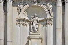Bernardo Falconi, (scultore 1630 - 1697) ~ Madonna con il Bambino Gesù ~ Chiesa Santa Maria di Nazareth, Venezia.