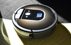 An expensive new Roomba with features and performance to match