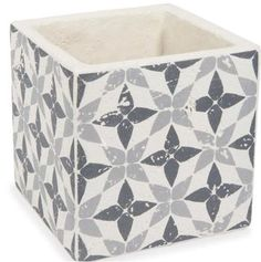 Vases, jars and pot holders on Maisons du Monde. Take a look at all the furniture and decorative objects on Maisons du Monde. Haifa, Indoor Planters, Planter Pots, Decorative Objects, Decorative Boxes, Stencil Concrete, Cement Pots, Cement Tiles, Deco Design