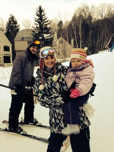 Skiing w mommy and daddy mt cranmore