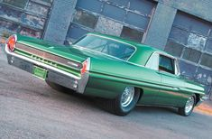 1962 Pontiac Grand Prix #OPPO #Emerald.  Had one of these but was red.  Like the emerald for a nice change.