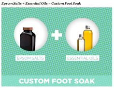"""I can wear heels, up to 4.5 inches, all day long if I know an aromatic tub of Epsom salts is awaiting me at the end of the day,"" says Julia DiNardo of Fashion Pulse Daily. ""Buy Epsom salts in bulk, dump them into a container and mix in a few drops of your favorite essential oil (I'm big on scents of lavender, blood orange, or spiced fig by Palatium). Then you just pour a healthy amount of it into the bath (or footbath) when your feet need it!"""