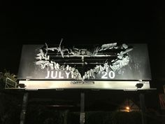 """The Dark Knight Rises"": anuncio callejero"