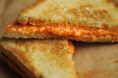 Grilled Pepper Cheese Sandwiches  added by Savour, food 52 #Sandwich #Grilled _Cheese #Savour #food52