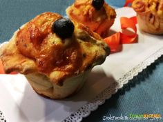 Pizzette Muffin  #ricette #food #recipes