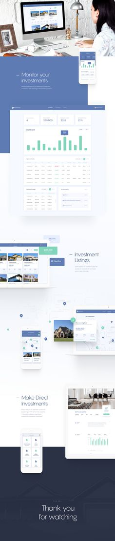 Instalend - Website on Behance