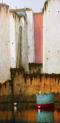 British Artist Cyril CROUCHER-As I Was Going Up The Stairs