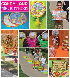Candyland Themed Party