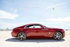 red #RollsRoyce #Wraith