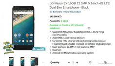 Dual-SIM LG Nexus 5X