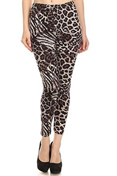Vesi Star Womens Printed Fashion Leggings  PLUS SIZE  Plus Size 1224 SLXC1 -- Want to know more, click on the image.  This link participates in Amazon Service LLC Associates Program, a program designed to let participant earn advertising fees by advertising and linking to Amazon.com.