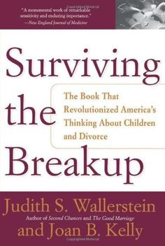 Surviving The Breakup: How Children And Parents Cope With Divorce