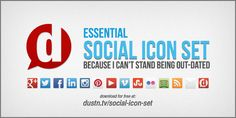 Keep Your Social Icons Updated [Download]