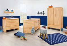 Kinderzimmer Fagus Massivholz von Pinolino