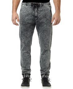 Buffalo David Bitton Zoltan Gonow Marbled Jogger Jeans