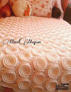 ergahandmade: Crochet Blanket + Free Pattern Step By Step + Diagram