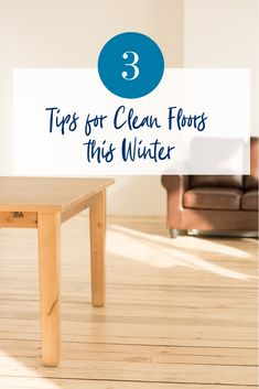 While snow, ice and rain can do lots of damage to a hardwood floor, some minor changes to your cleaning routine are all you need to protect your floors against debris, excess moisture and humidity changes.