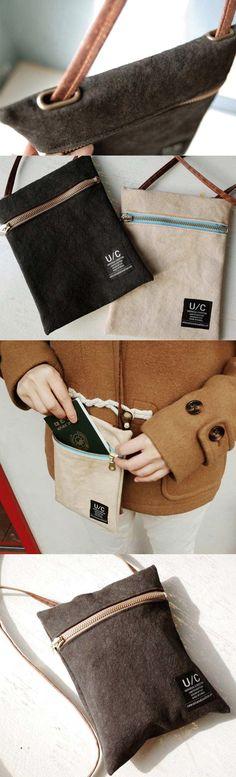 Shoulder bag for you, shoulder bag for me! The Universal Condition Mini Bag will make your life complete.