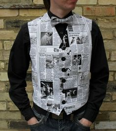 waistcoat made from paper - Google Search