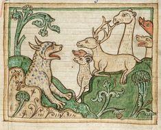 Они просто не могут. Великолепные средневековые гравюры иногда вызывают веселую улыбку. На ум приходит всякая чепуха)) Хоть это и неправильно, но посмотрите сами. Конечно, все звери имели символическое значение. 1-я картинка - Василиск (Рукопись Британской библиотеки) Василиск — тварь зело…