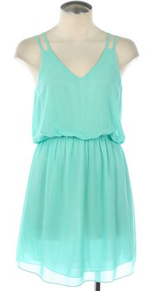 The Lake Shore Dress in Mint - Adabelle's