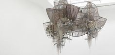 Lee Bul: Vancouver Review by Ilene Spiewak - Enormous architectural assemblages made from fragmented reflective materials dominate the scene upon entrance (even the gallery floors are mirrored).  One encounters vibrant comple...