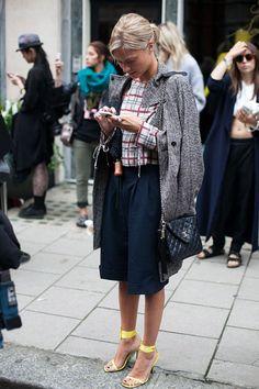 54 street style photos from London Fashion Week #LFW #coat
