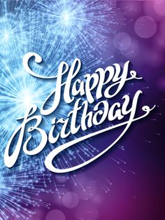 It's Time to Celebrate - Happy Birthday Card