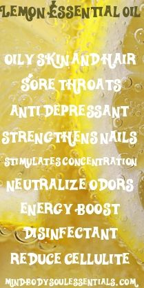 Lemon Essential Oil Uses & Benefits!