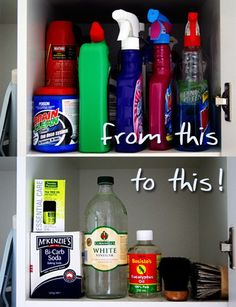 Organization - 25 DIY Green Cleaning Recipes For the Whole House! | Apartment Therapy