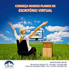 Conheça nossos planos de escritório virtual: http://www.locusbc.com.br/planos-servicos/link-locus/ #virtualoffice #linklocus #homeoffice