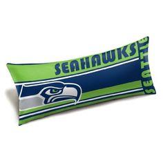 Seattle Seahawks Body Pillow