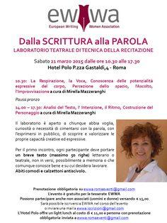 Laboratorio Teatrale – Dalla SCRITTURA alla PAROLA