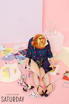 BRAND     KATE SPADE SATURDAY      Photographer     Jimmy MARBLE      Director     Jimmy MARBLE      Stylist     Martha VIOLANTE      Hair Stylist     Mark ANTHONY      Make-Up Artist     Brit COCHRAN      Manicurist     Elisa FERRI      Props     Angharad BAILEY      Music     DeVoe YATES  - See more at: http://www.lebook.com/creative/kate-spade-saturday-holiday-2014-advertising-2014#sthash.cSz2EKJq.dpuf