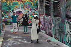 I really like this image because the colour palette is very calm. HOSIER LANE