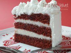 Tarta Red Velvet. Red Velvet Cake