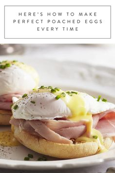 Here's How to Make Perfect Poached Eggs Every Time via @PureWow