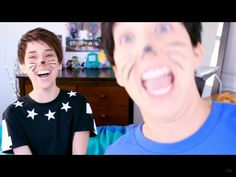 Everyone should watch the hillywood Dan and Phil parody thing. It's scary how similar they are at some points.